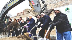 Evergreen Real Estate Group Celebrates Groundbreaking of 2 Co-Located Library/Senior Housing Projects on Chicago's North Side